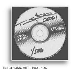 Order the DVD signed by  TURE SJOLANDER'S  ELECTRONIC ART WORKS 1964 - 1967  LIMITED  EDITION: 1/500.